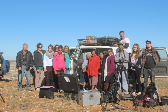 MGC crew on location near Tibooburra